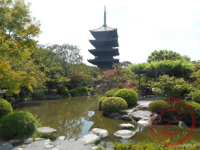 De pagode van de Toji tempel