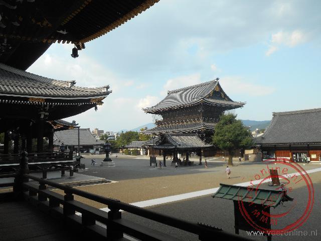 De Higashi Honganji in het centrum van Kyoto