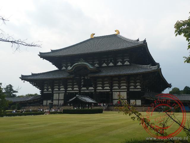 De tempel van Nara is de grootste houten tempel ter wereld