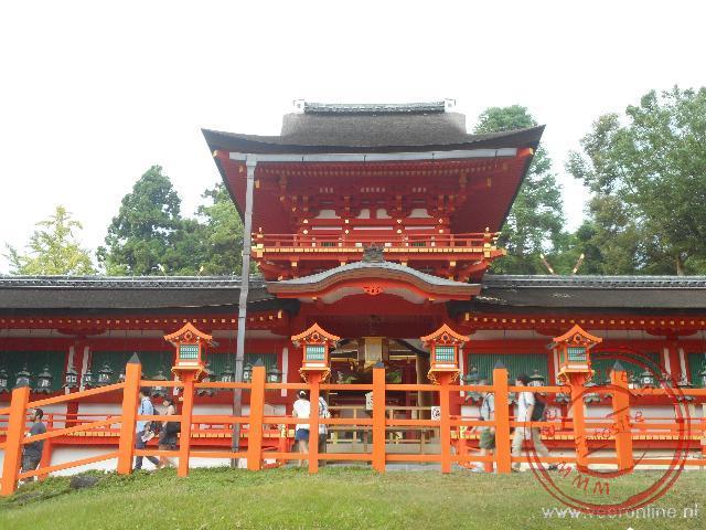 De Kasuga Taisha tempel in een van de mooiste Shinto tempels in Japan
