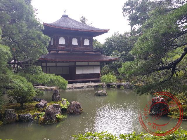 Het zilveren paviljoen in Kyoto