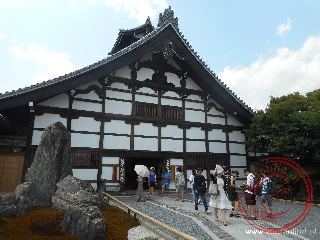 De ingang van de Tenryu-ji Temple