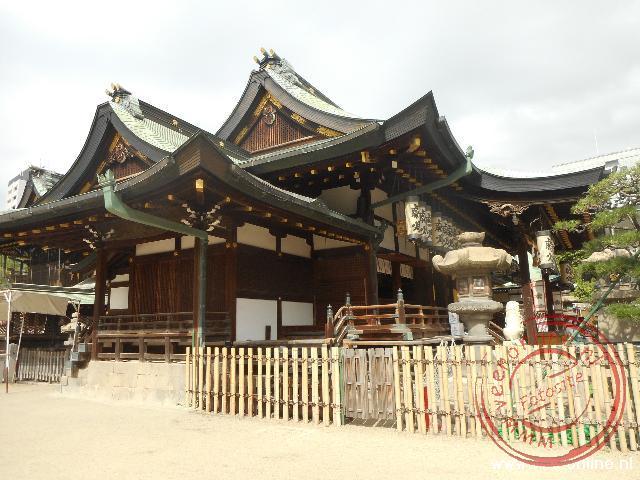 De Osaka tempel in Osaka