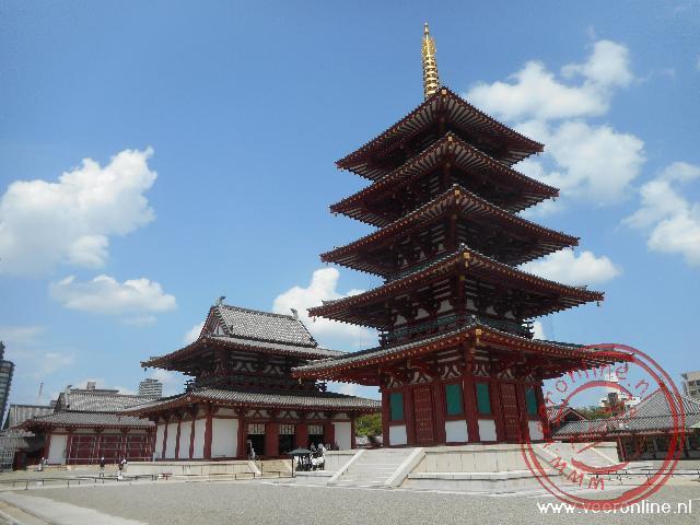 De pagode van de Shitennoji Temple