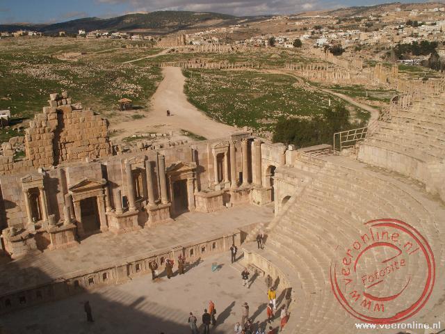 Het South Theater in Jerash