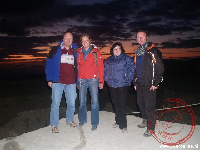 Ronald, Willemijn, Wendy en René in Dana