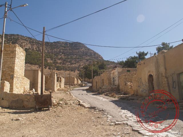 De hoofdstraat van Dana