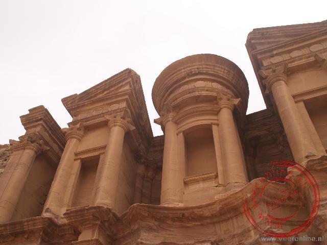Het indrukwekkende klooster van Petra