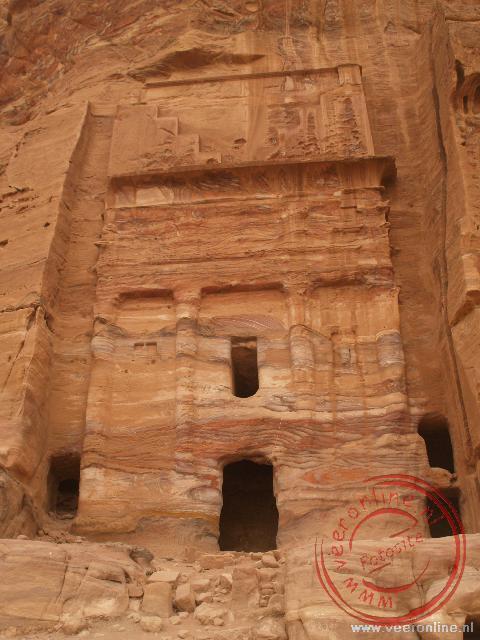 Eén van de koninklijke tombes in Petra