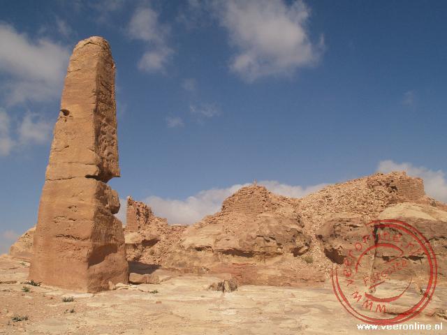 De twee Obelisks nabij de Place of Sacrifice