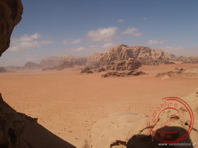 De Wadi Rum woestijn is één van de mooiste woestijen ter wereld