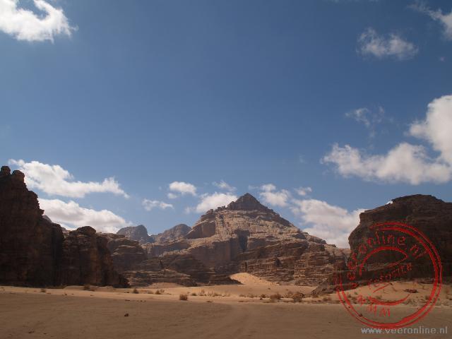 De Wadi Rum woestijn