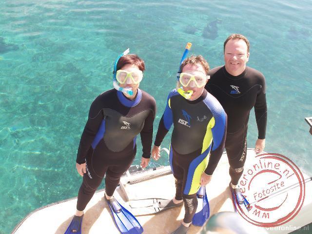 Klaar om te duiken