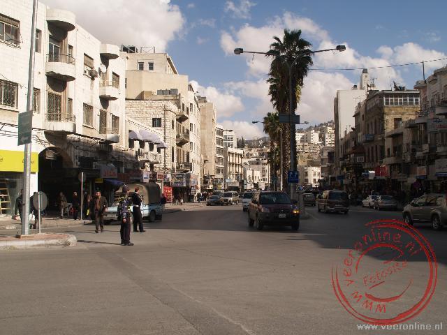 Het centrum van Amman