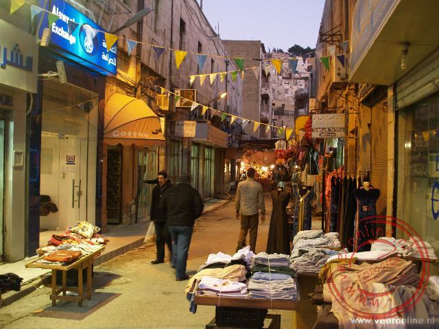 De straatjes Downtown Amman