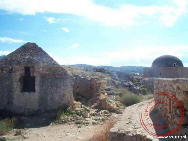 De oude vesting van Rethymnon