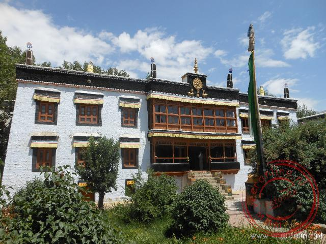 Het Sankar klooster in Leh