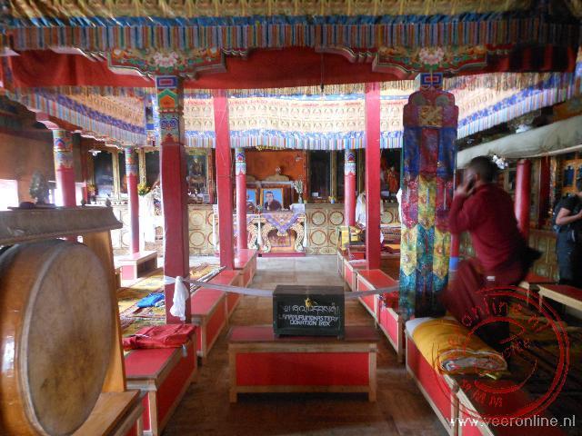 De main tempel van het Lamayuru klooster