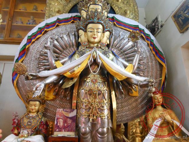 De Tsuglagkhang tempel in Dharasala