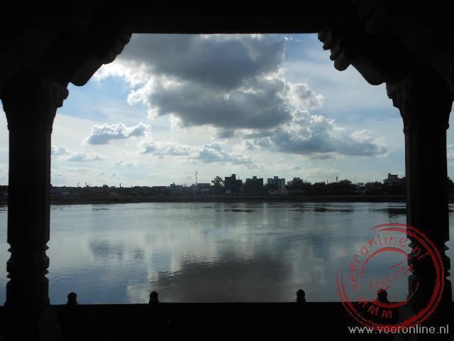 De Yamuna rivier in Agra