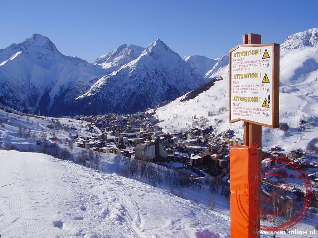 Uitzicht Les 2 Alpes