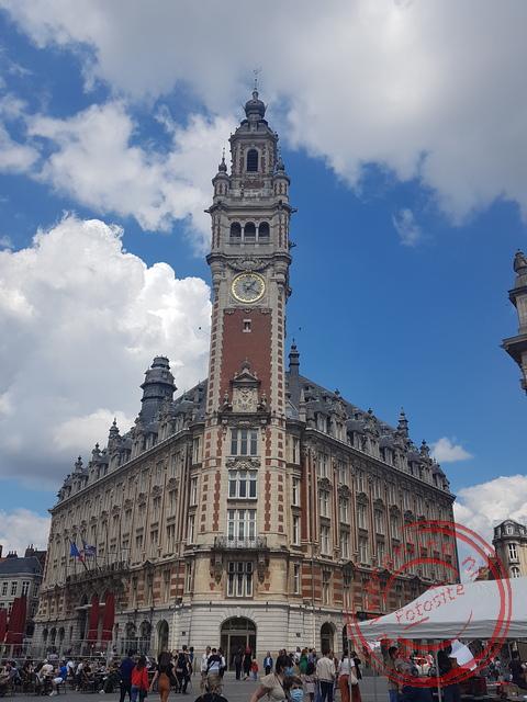 Het markante beursgebouw van Lille