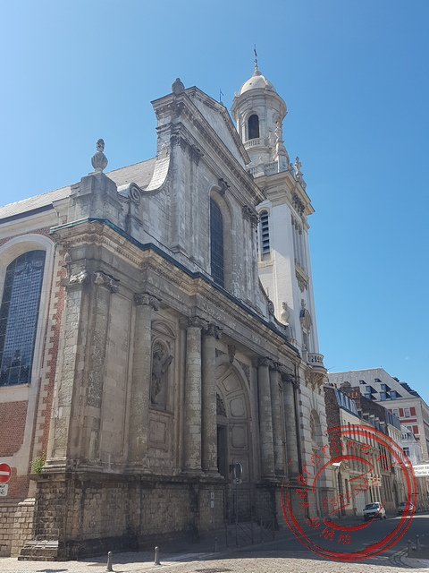 De Sint-Andreaskerk in Lille