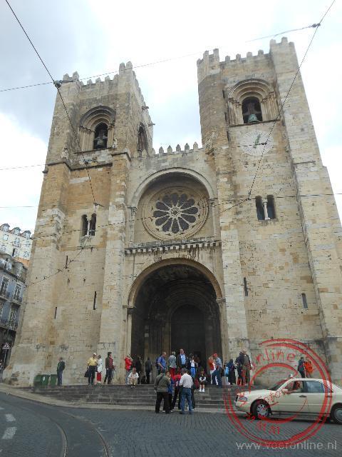 Een van de vele kerken van Lissabon