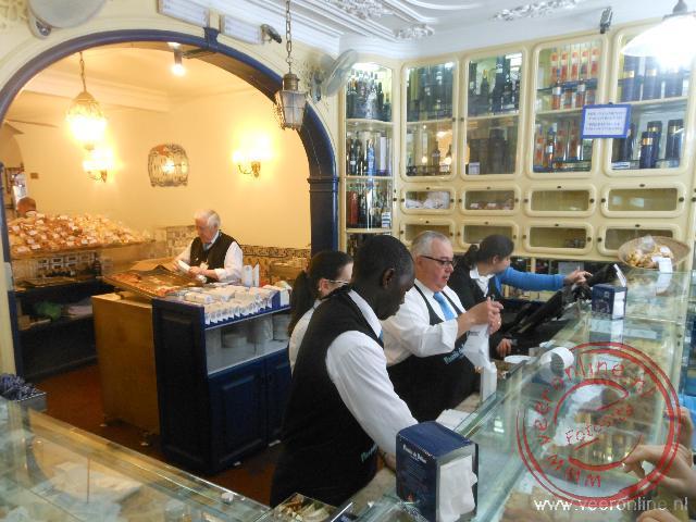 De beroemde bakkerij Pastéis de Belém