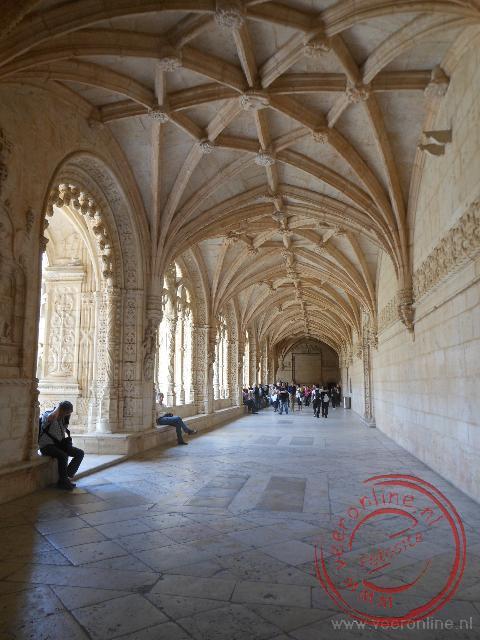 De kloostergang van het Mosteiro dos Jerónimos