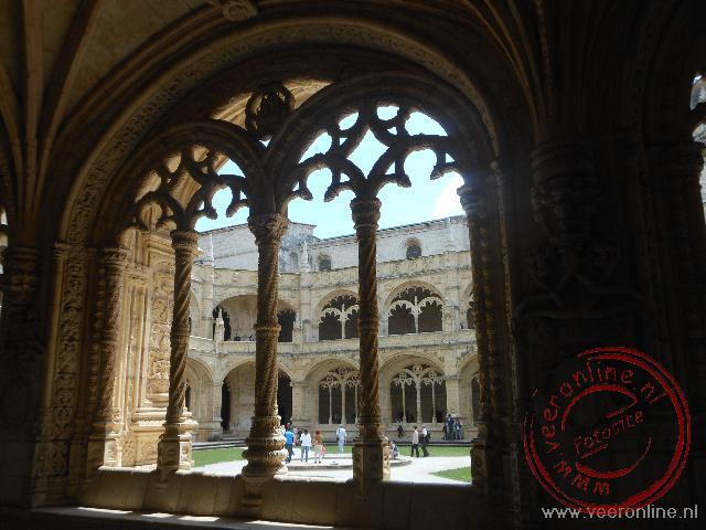 Het mooie klooster in de wijk Belém