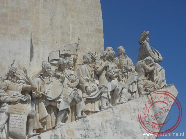 De helden van Portugal met Vasco da Gama voorop