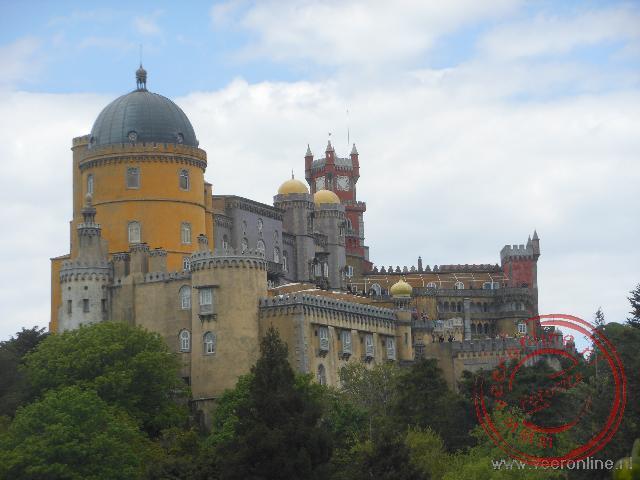 Het Palácío da Pena in Sintra