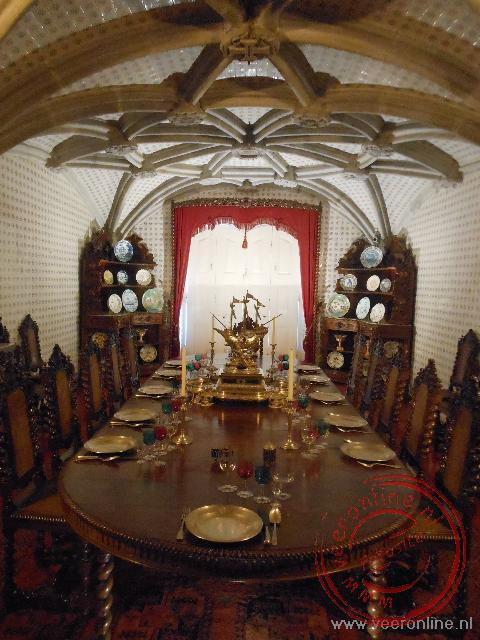 De Royal Dining Room in het paleis van Sintra