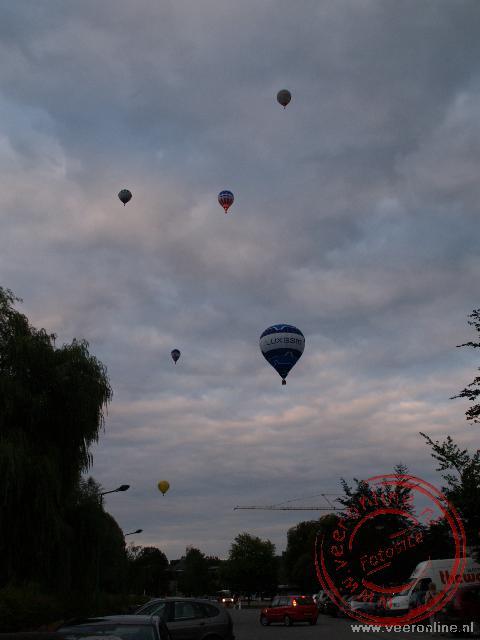 Het luchtballonnen festival in Echternach
