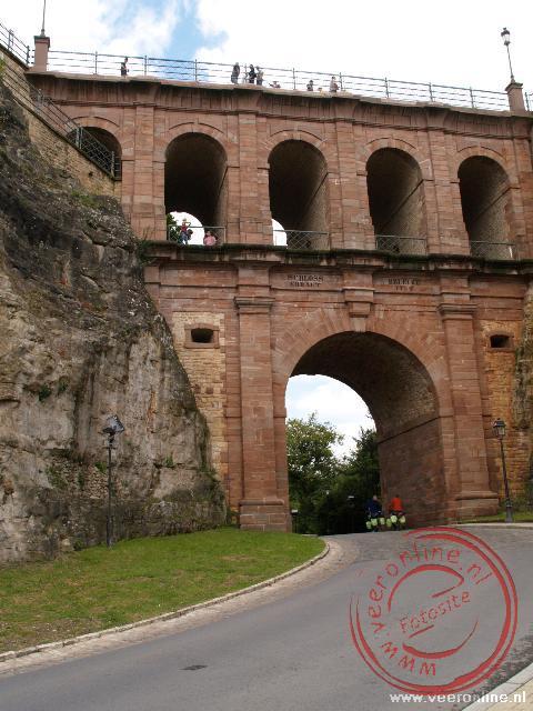 De poort diende vroeger als verdediging