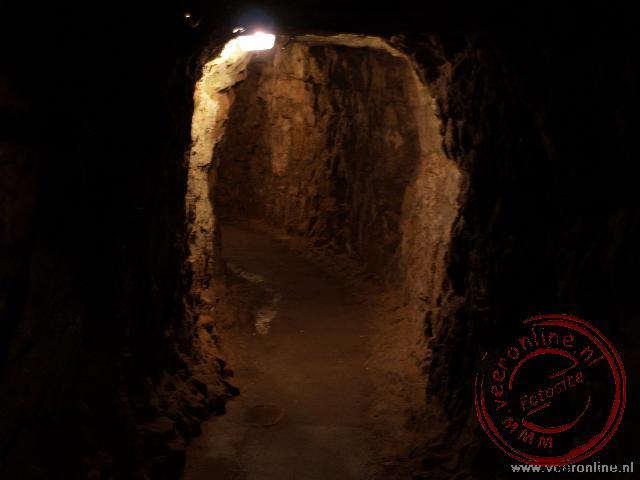De ondergrondse doorgangen boden een goede verdediging van de stad
