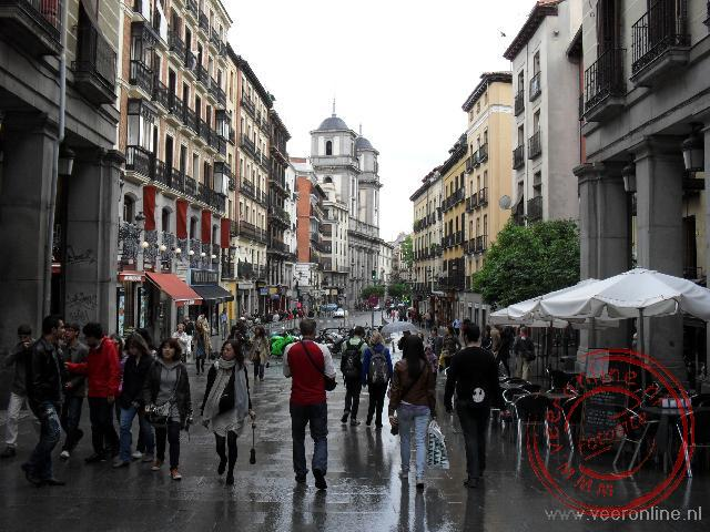 De straten rond het oude centrum