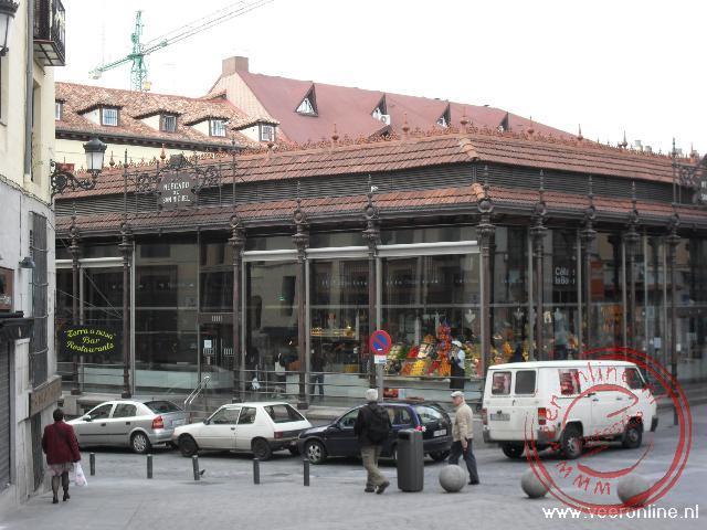 De Mercado de San Miguel uit 1914