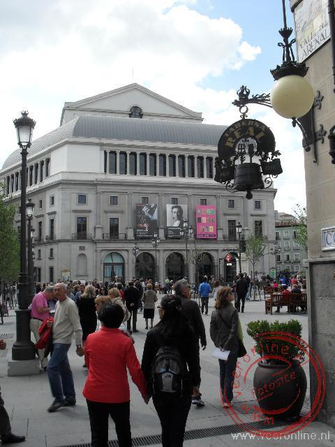 Het theater van Madrid