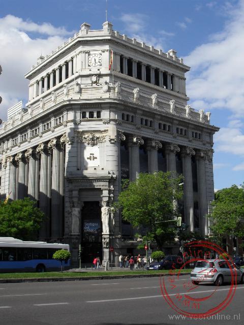 Het Instituto Cervantes aan de Calle Gran Via