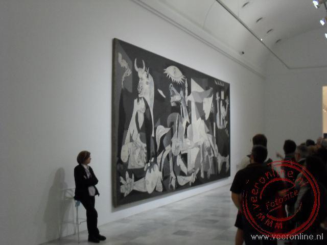 Het beroemde Guernica schilderij van Pablo Picasso