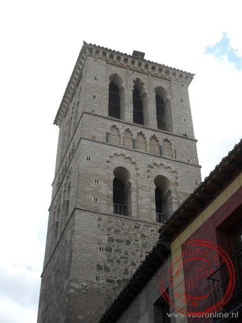 Een kerk binnen de stadsmuren van Toledo