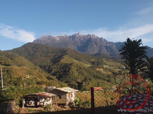 De hoogste berg van Borneo Mount Kinabalu