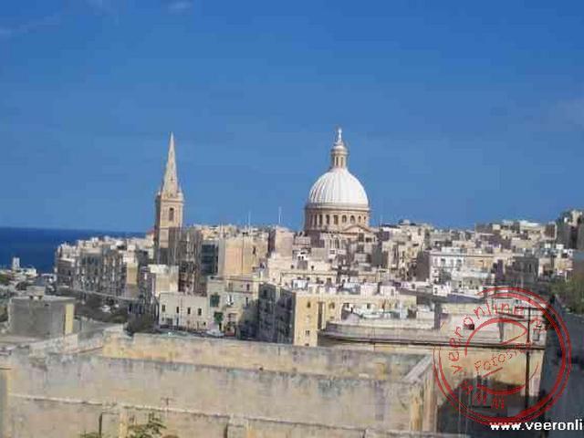 Overzicht over Valletta