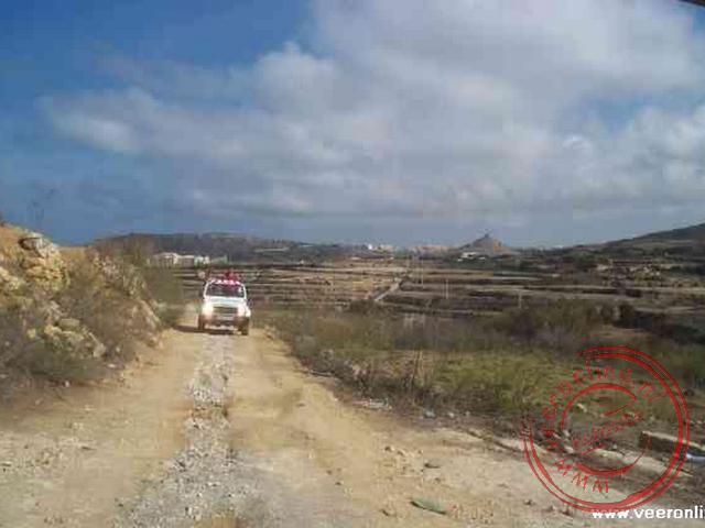Op jeepsafari over het eiland Gozo