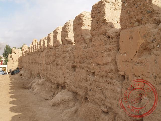 De muur rond Taroudant