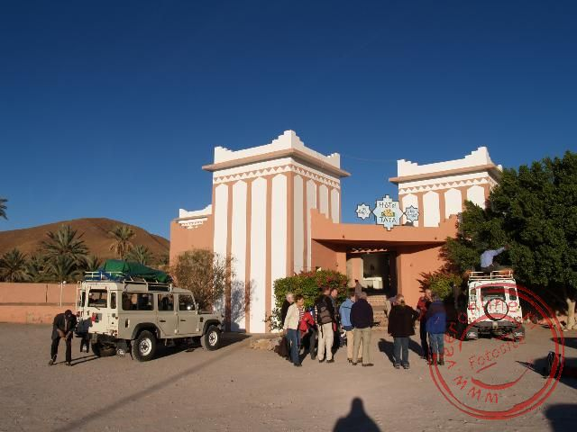 Het hotel in Tata