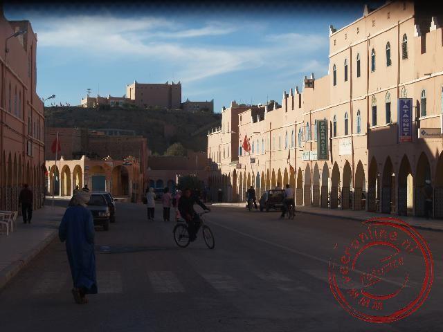 De dorpstraat van Tata