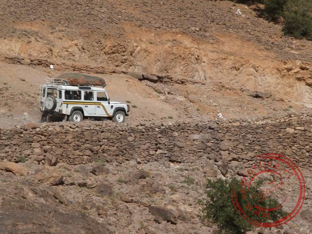 Over de bergpas naar Tafraoute
